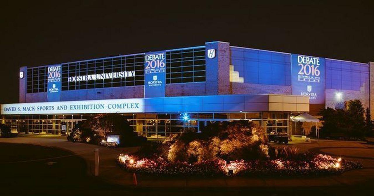 David S Mack Sports and Exhibition Complex Hofstra University Debate